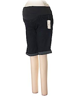 Thyme Maternity Denim Shorts Size S (Maternity)