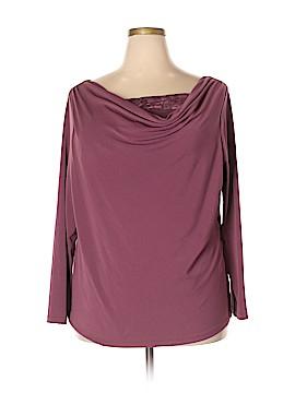 Rafaella Long Sleeve Top Size 2X (Plus)