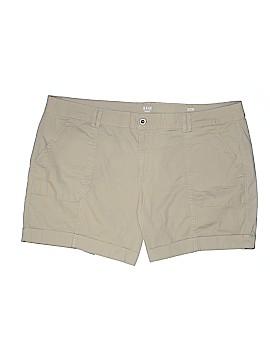 A.n.a. A New Approach Khaki Shorts Size 22 (Plus)