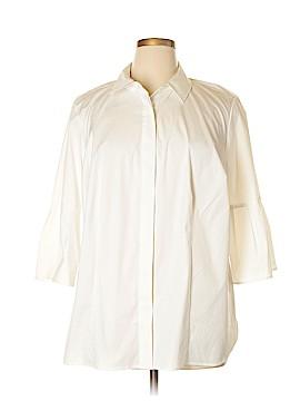 Talbots 3/4 Sleeve Button-Down Shirt Size 16W