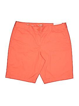Ann Taylor LOFT Outlet Khaki Shorts Size 12