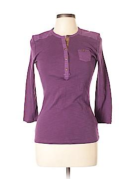 L-RL Lauren Active Ralph Lauren 3/4 Sleeve Henley Size L