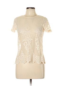 Dorothy Perkins Short Sleeve Blouse Size 14 (UK)