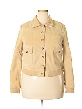 Isaac Mizrahi for Target Leather Jacket Size XL