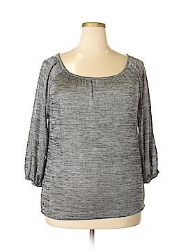 Covington 3/4 Sleeve Top Size 1X (Plus)