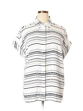 Alfani Short Sleeve Blouse Size 16 (Plus)