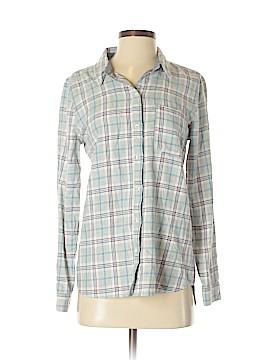 Treasure & Bond Long Sleeve Button-Down Shirt Size S