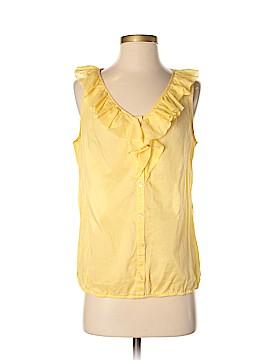 Ann Taylor LOFT Outlet Sleeveless Button-Down Shirt Size S
