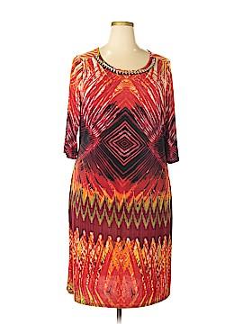 Mlle Gabrielle Casual Dress Size 2X (Plus)