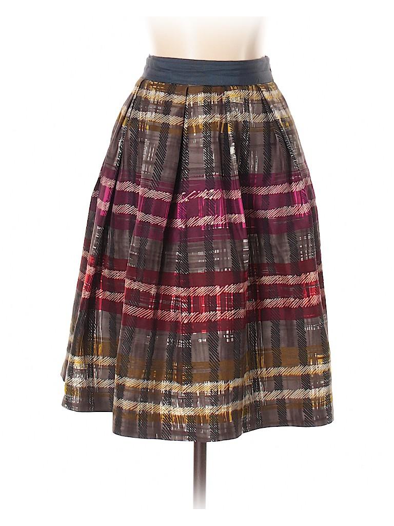 Trina Turk Women Silk Skirt Size 0