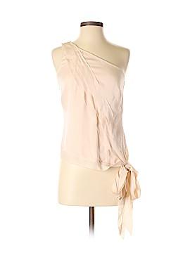 Leon Max Sleeveless Silk Top Size 4