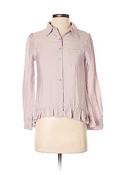 Rachael & Chloe Long Sleeve Blouse Size S