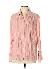 Notations Women Long Sleeve Blouse Size XL