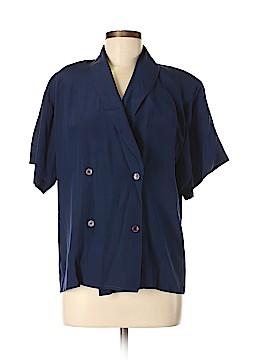Argenti Short Sleeve Silk Top Size 4