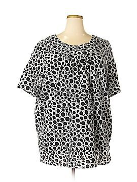 Liz & Me Short Sleeve Blouse Size 3X (Plus)
