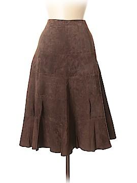 Eddie Bauer Leather Skirt Size 10