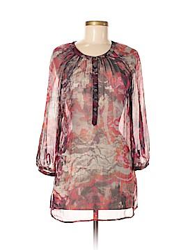Hilton Hollis 3/4 Sleeve Silk Top Size M