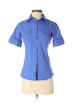 Merrell Short Sleeve Button-Down Shirt Size XS