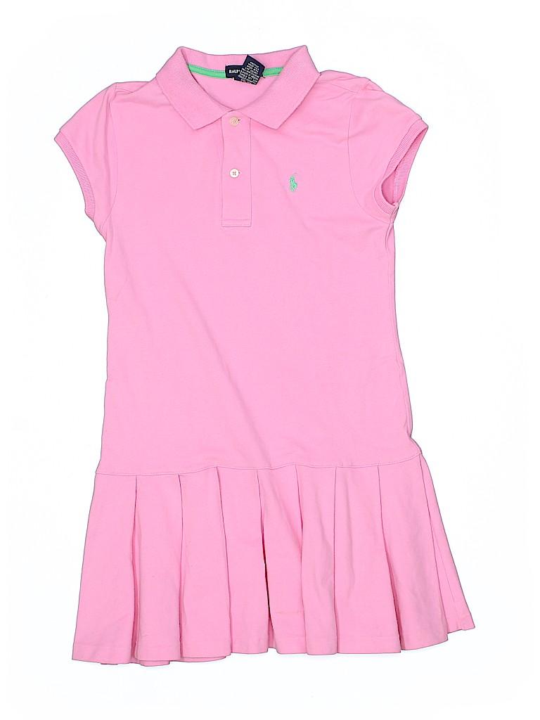 aff1764a52c794 Ralph Lauren Solid Light Pink Dress Size L (Kids) - 73% off