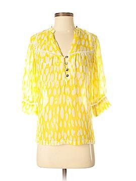 Dolan 3/4 Sleeve Silk Top Size XS