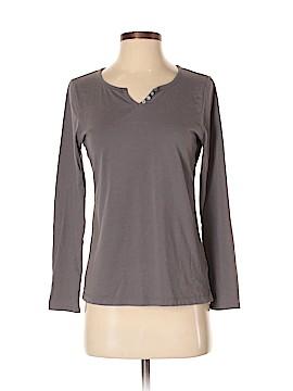 Carole Hochman Long Sleeve Henley Size S