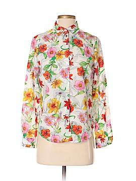 Jones New York Collection Long Sleeve Blouse Size 2 (Petite)