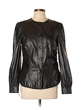 Ellen Tracy Leather Jacket Size 10