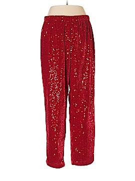 Roaman's Velour Pants Size 14 (M)