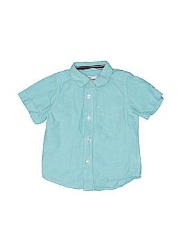 The Children's Place Short Sleeve Button-Down Shirt Size 12 - 18