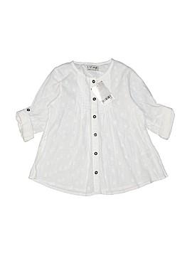 Next 3/4 Sleeve Button-Down Shirt Size 3 - 4