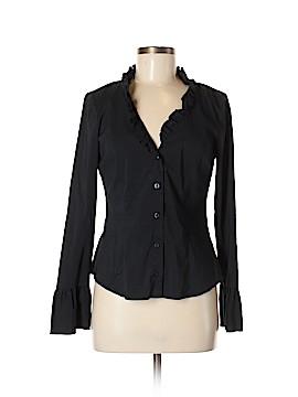 INC International Concepts Long Sleeve Button-Down Shirt Size 6