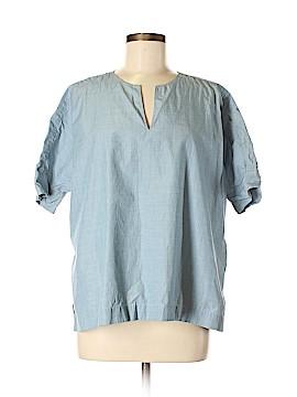Uniqlo Short Sleeve Blouse Size M