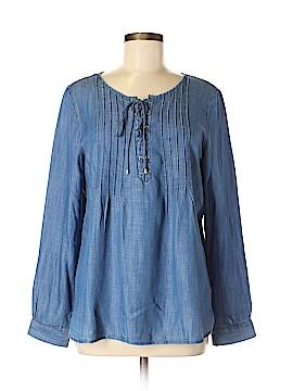 Talbots Long Sleeve Blouse Size M