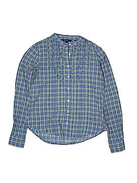 Mini Boden Long Sleeve Button-Down Shirt Size 12