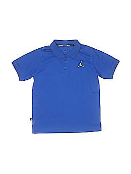Jordan Short Sleeve Polo Size M (Youth)