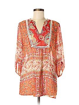 Figueroa & Flower 3/4 Sleeve Blouse Size M