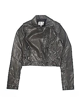 Xhilaration Leather Jacket Size S