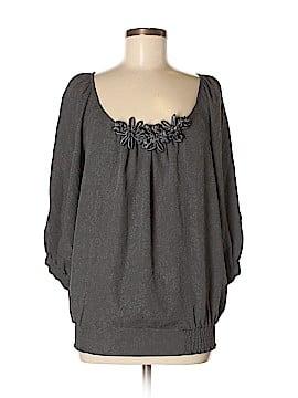 Spiegel 3/4 Sleeve Silk Top Size 8