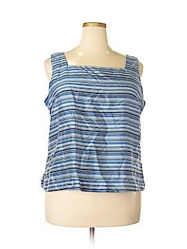 Venezia Sleeveless Silk Top Size 18 - 20 Plus (Plus)