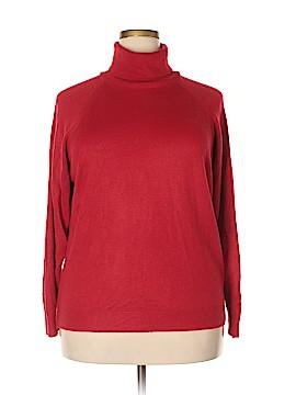 Designers Originals Turtleneck Sweater Size 1X (Plus)