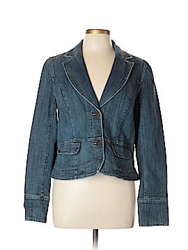 INC International Concepts Denim Jacket Size L