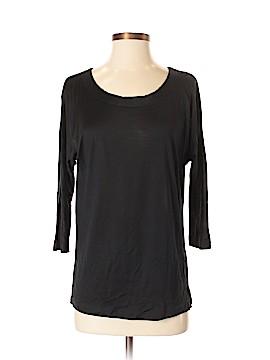 Hi-Line 3/4 Sleeve Silk Top Size S