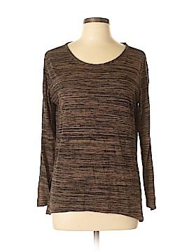 Color Thread Pullover Sweater Size L