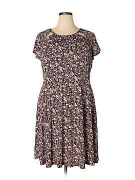 Michele Michelle Casual Dress Size 2X (Plus)