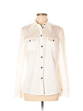 Escada Long Sleeve Button-Down Shirt Size 38 (EU)