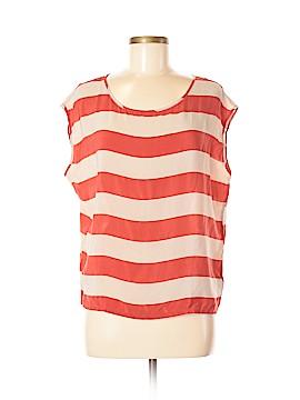 XXI Short Sleeve Silk Top Size S