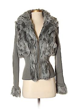 Boston Proper Faux Fur Jacket Size S