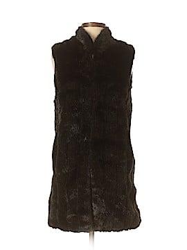 Donna Salyers' Fabulous Furs Faux Fur Vest Size XS