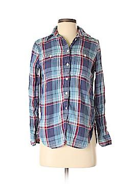 Denim & Supply Ralph Lauren Long Sleeve Button-Down Shirt Size XS