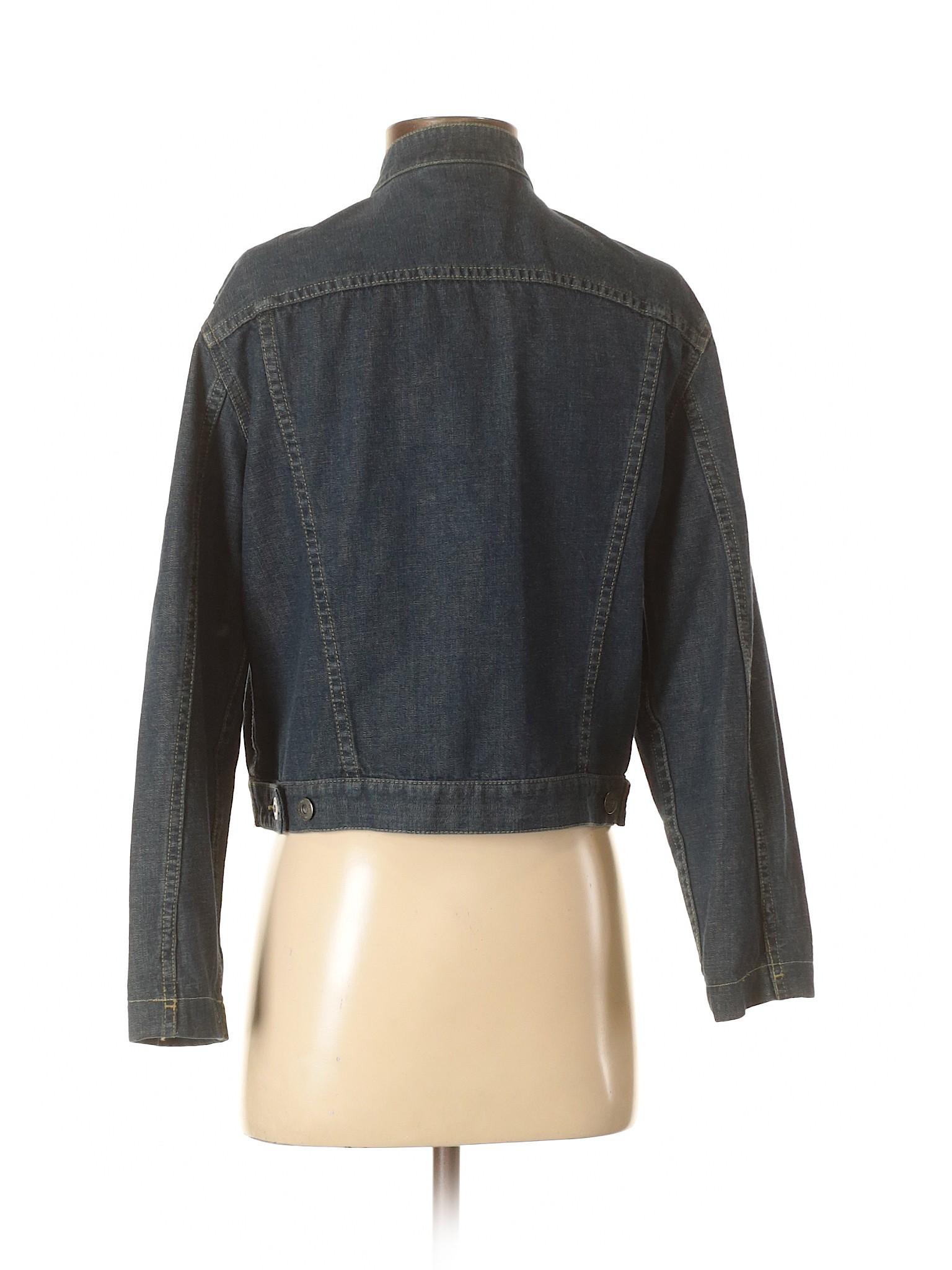 Liz Leisure Denim Jacket Claiborne winter 55rwSq8